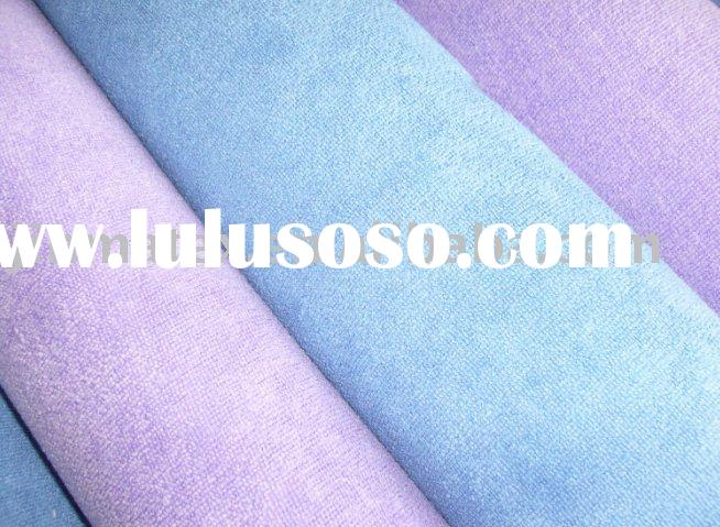 Double-sided plush,Microfiber cleaning cloth