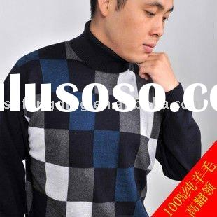 Fashionable knitting patterns sweater for men