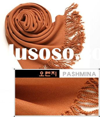 Solid Pashmina Stole
