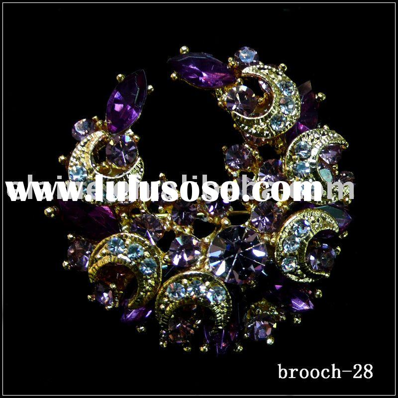 brooch,fashion brooch,alloy brooch,costume brooch,rhinestone brooch,pin brooch,silver brooch,flower