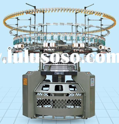 computerized single circular knitting machine series with auto stripper(4/6 colors)