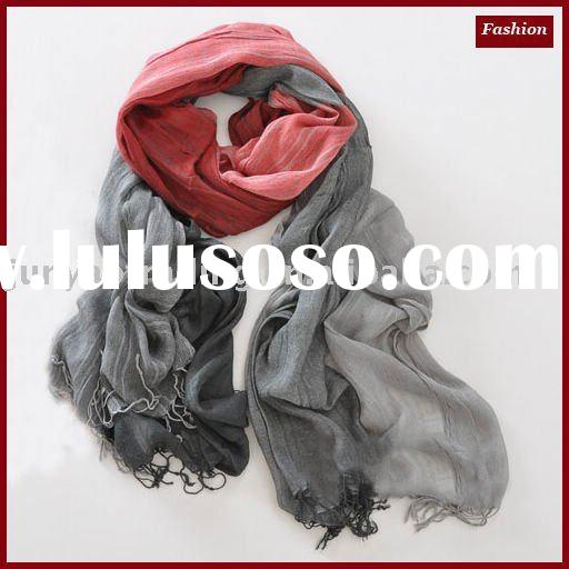 elegant yarn dyed cotton shawl JY-D519