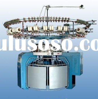 single and double circular knitting machine