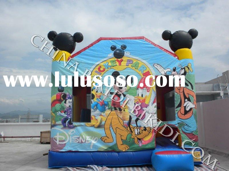 5 in 1 Inflatable Combo Castle Mickey