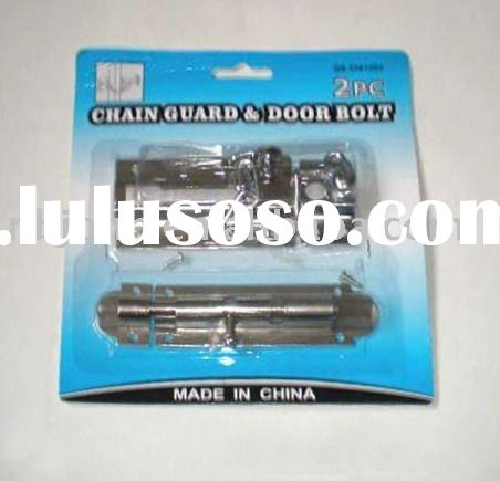 DOOR CHAIN &DOOR BOLT
