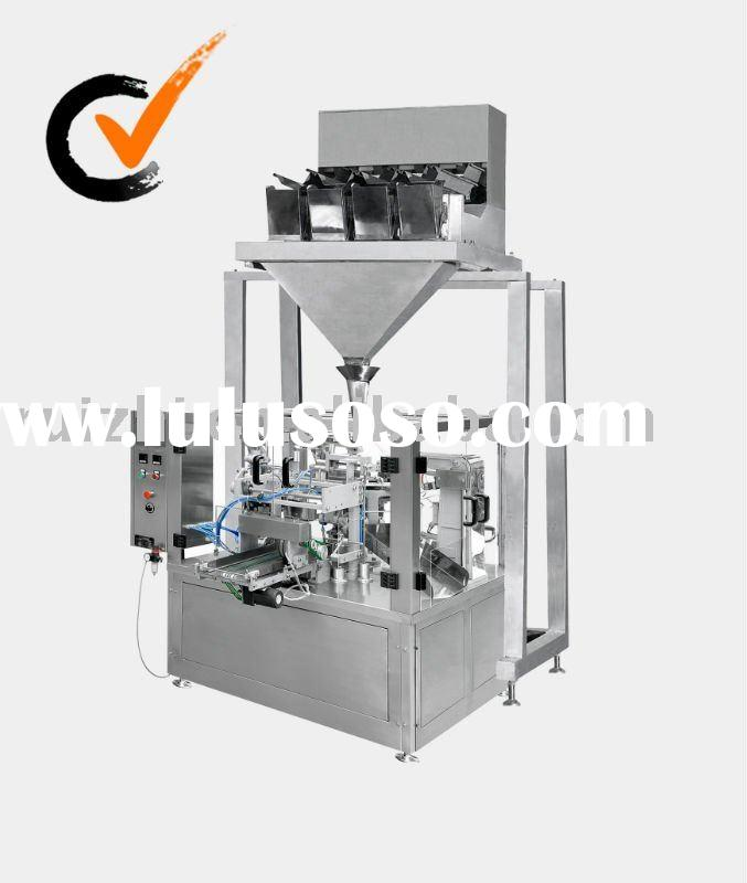 Granule Packing Machinery with preformed bag