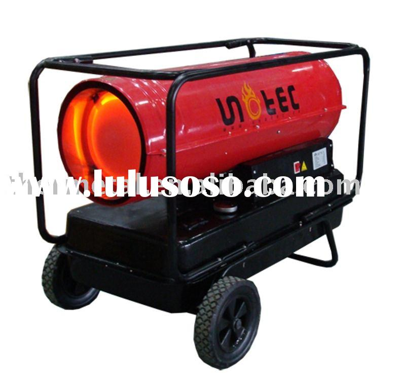 Heat Duct Blower : Industrial portable diesel fired air heater for sale