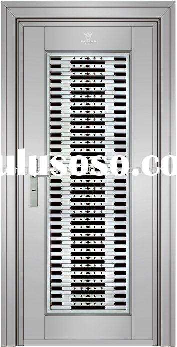 Solid Home Security Stainless Steel Door--RG-828