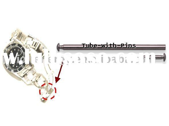Timepieces Watch Tube with Pin tube-with-pin for watch bracelet, fashion wristband