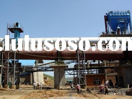 cement production machinery