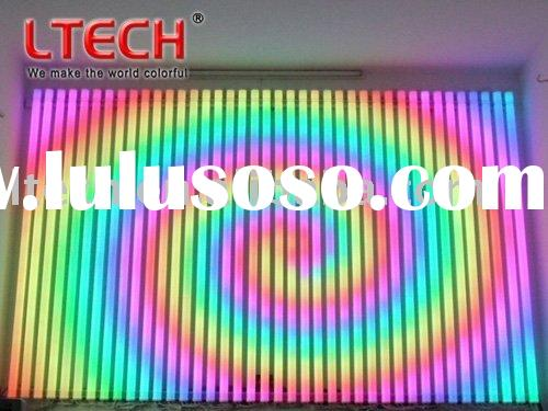 full color RGB LED video tube LED digital tube