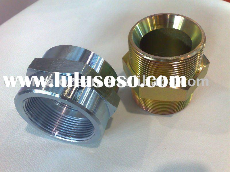 Hydraulic fittings flareless bite type adapters for sale