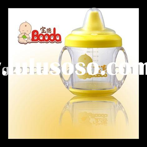 plastic baby training cup