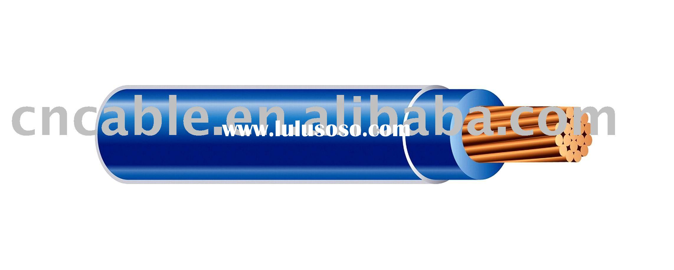 600V THHN Cable, Copper Conductor Thermoplastic Insulated Nylon sheathed Cable/Wire/Cord