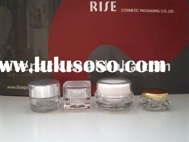 Acrylic Cosmetic Packaging Little Small Sample Jar Gel Container