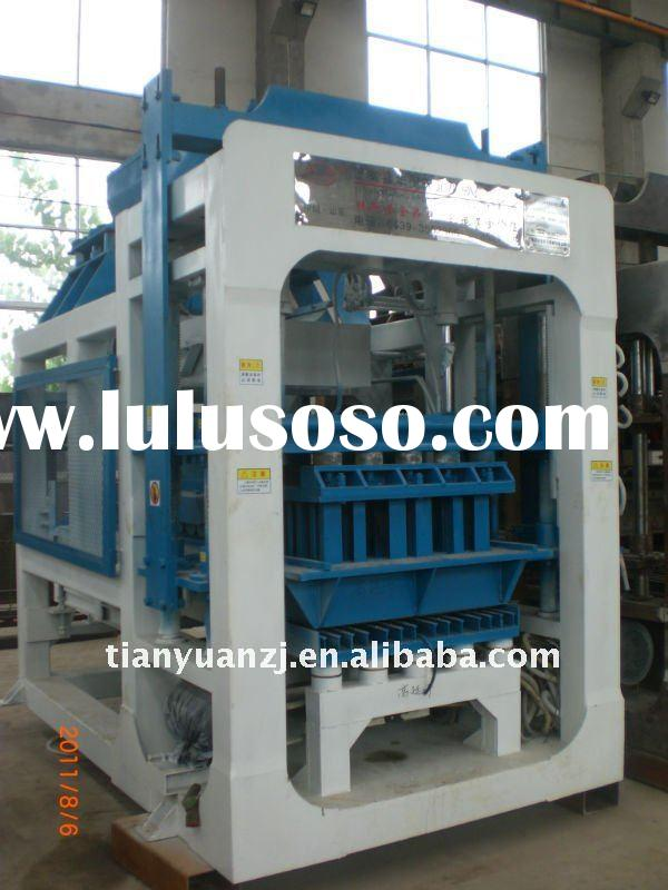 Automatic Concrete Block Making Machinery QTY4-15A