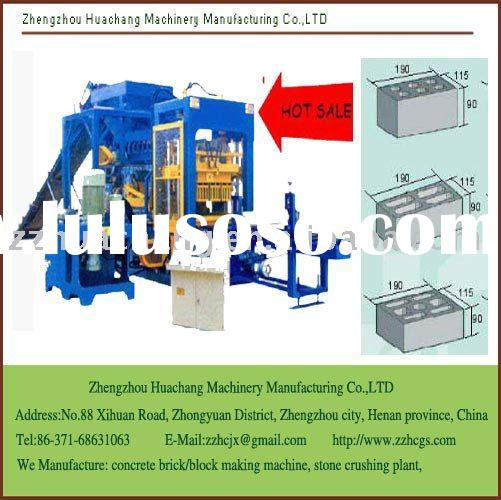Cement Block Making Machine, very popular in africa