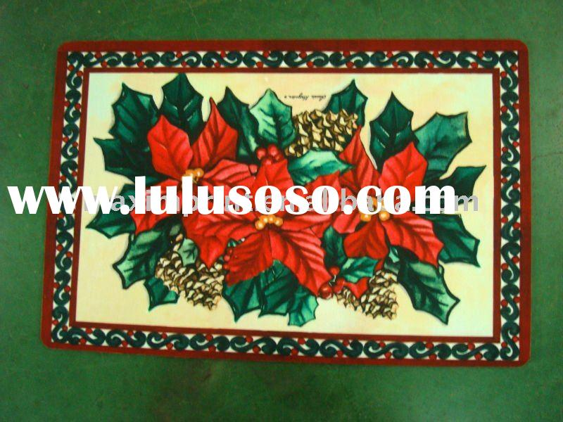Classic Flower Floor Mat ( For house using and decor)