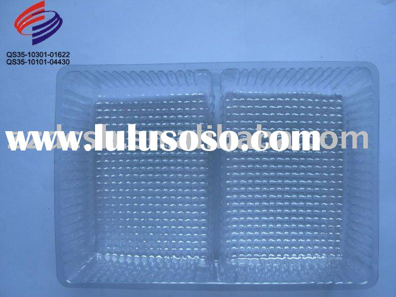 Clear Cosmetic  plastic container