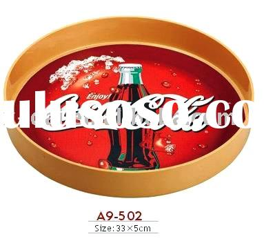 Coca Cola ABS plastic bar tray for promotional