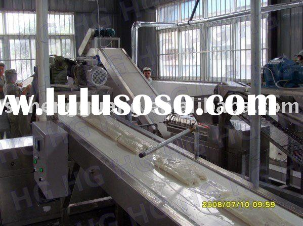 Complete Set of Automatic Rice Cracker Machine Manufacture