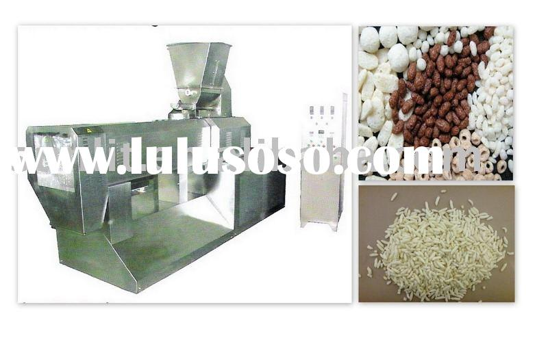 Crisp rice flakes machinery
