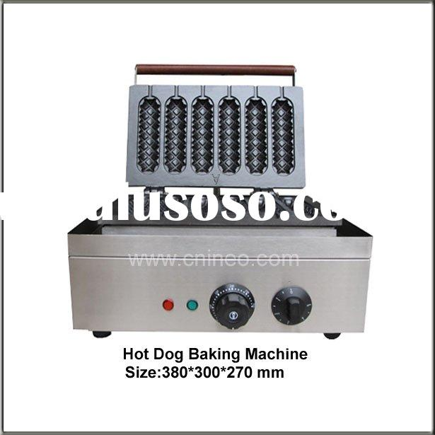 Electric Stainless Steel Hot Dog Machinery/Hot Dog Making Machines/Hot Dog Maker/Kitchen Equipment