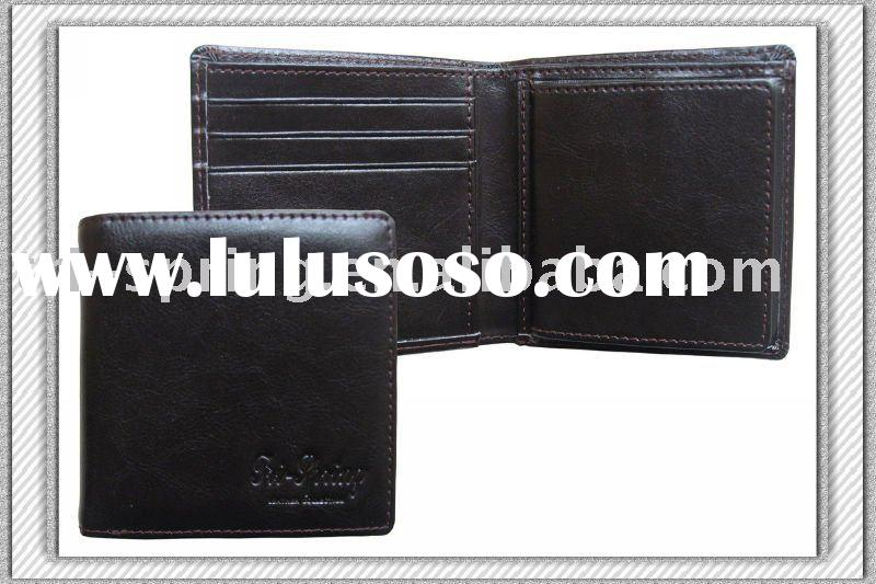 Fashion Design And Cow Leather Wallet