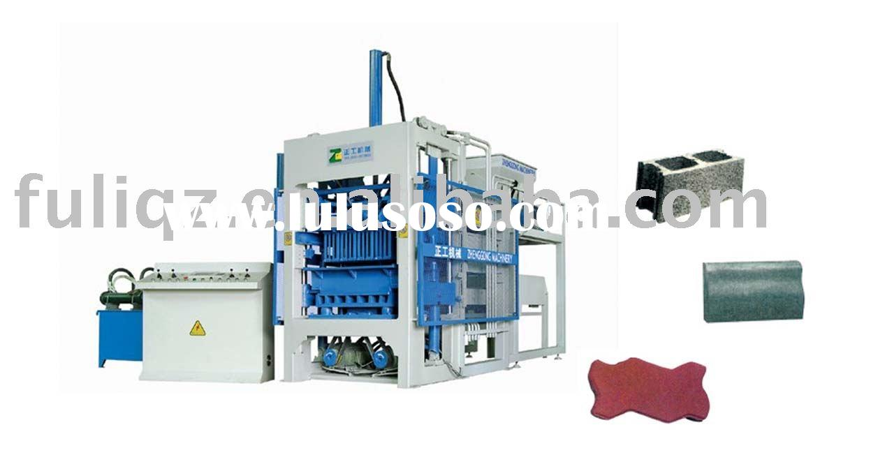Fully-Automatic Hollow Block Making Machinery (paving brick machine)