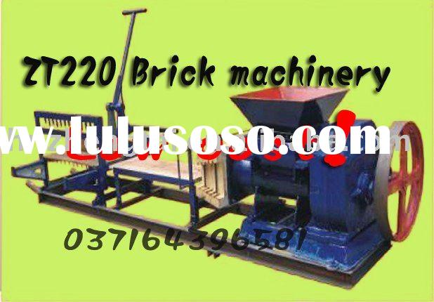 Hot sale in Africa! small scalebrick making machine,soil bricks making machine