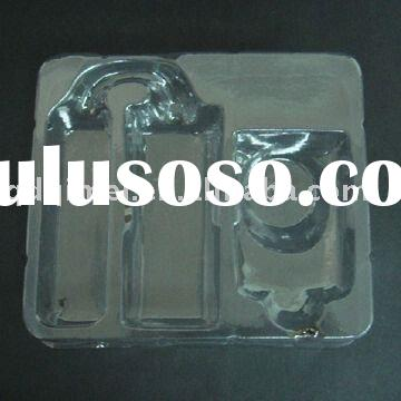 Lock Packing Tray disposable clear PVC blister rectangle container