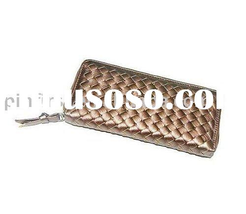 New Ladies PU Leather Wallet Purse Brown
