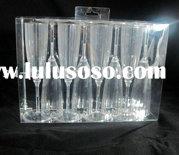 PVC Clear  Box for Glass Packaging