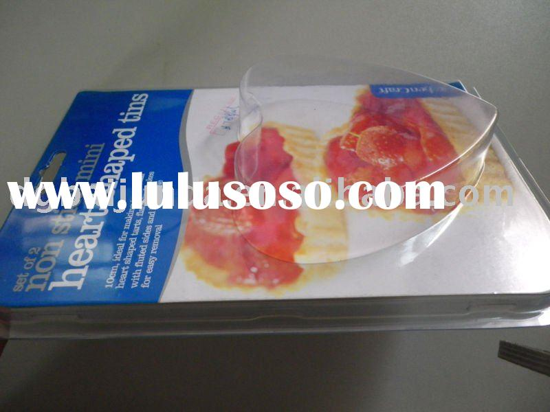 PVC clear plastic blister card packaging