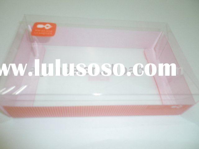 PVC clear plastic cake boxes and packaging