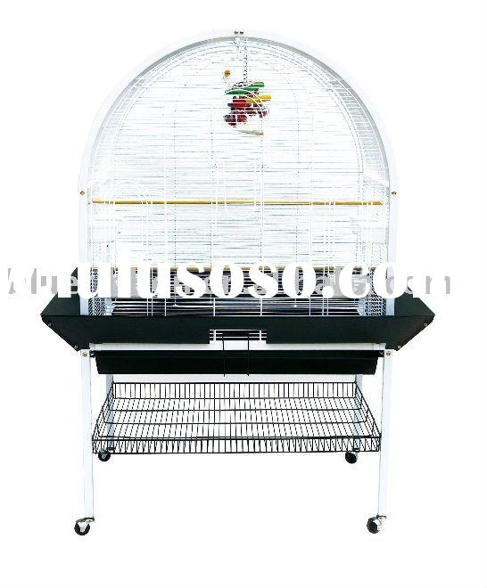 Parrot Cage Largr Aviary with Bent Wire Locking Device