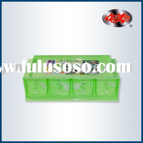 Plastic condiment container(sauce boat,spice container)