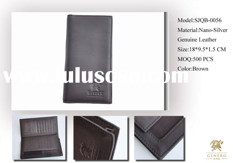 TOP DESIGN MEN HANDMADE LEATHER WALLET