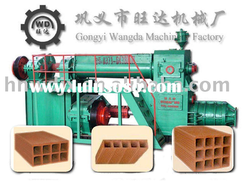 USA designed Clay brick making machine of Wangda