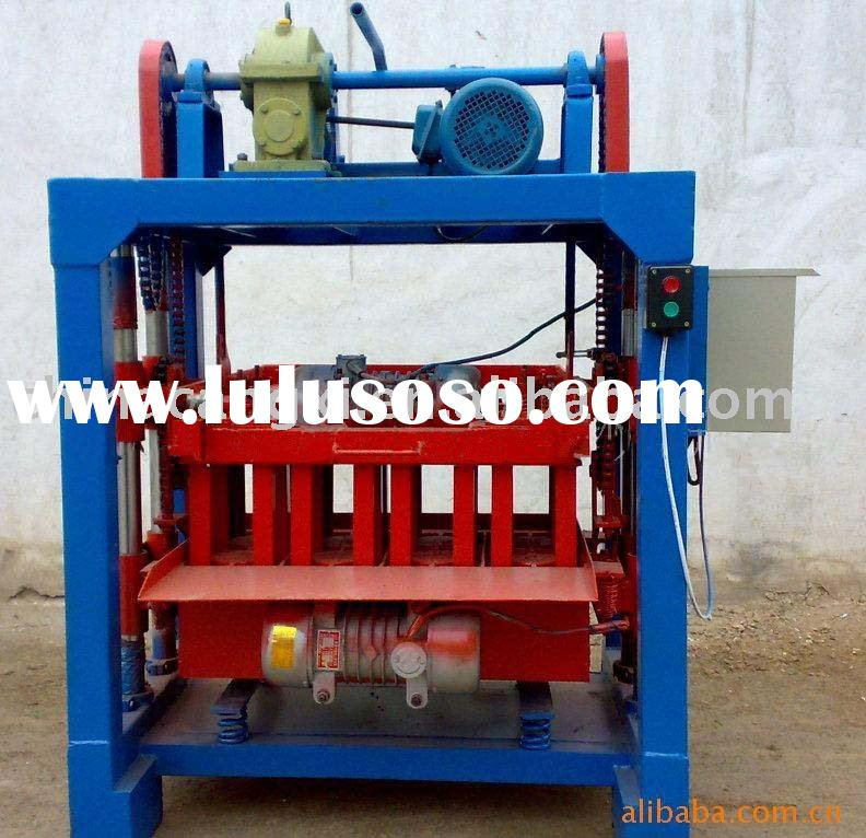 adobe brick making machine/mobile block  machinery