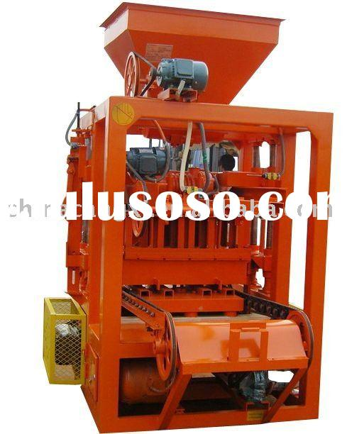 adobe brick making machinery/ cement block making machine