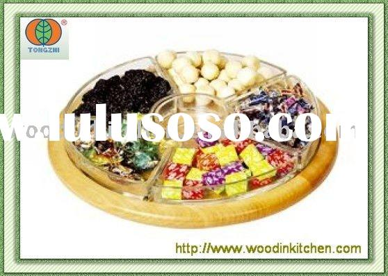 bamboo/ wooden serving tray