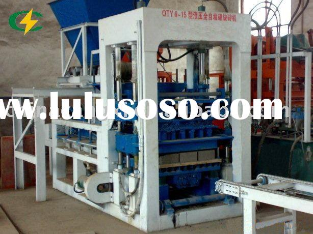 concrete brick making machine/automatic block machinery