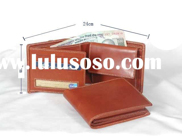 handmade men leather wallets
