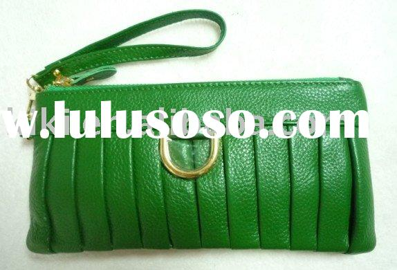 korean design ladies leather wallet