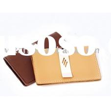 leather Money clip(men's money clips,money clip wallet)