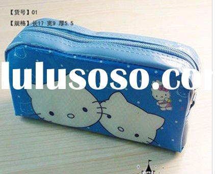 new!!free shipping wholesale &retail hello kitty wallet cosmetic holders  key bag