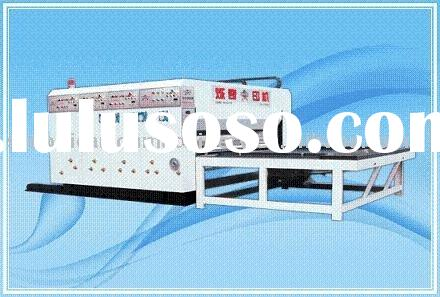 paper product making machinery YK901 three color printing slotter