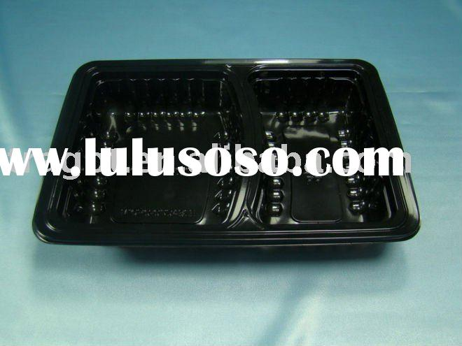 plastic compartment tray | plate