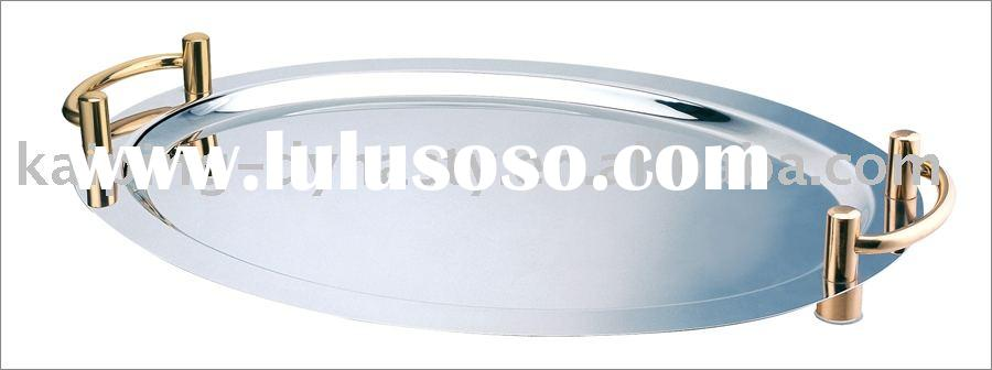 round tray,stainless steel tray